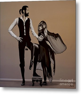 Fleetwood Mac Rumours Metal Print by Paul Meijering