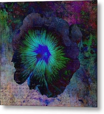 Fleur De Bleu De Cru Metal Print