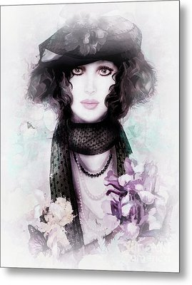 Fleuriste Metal Print by Shanina Conway