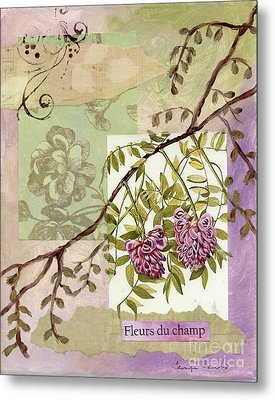Fleurs Du Champ Metal Print by Tamyra Crossley