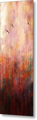 Flight Home - Abstract Art Metal Print by Jaison Cianelli