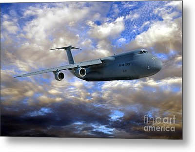 Flight Of The Galaxy Metal Print by Olivier Le Queinec