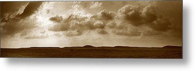 Flint Hills Panorama Metal Print by Thomas Bomstad