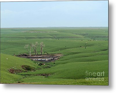Flint Hills Ranch Metal Print