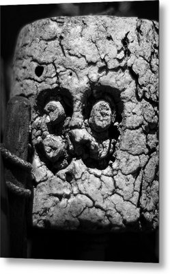 Metal Print featuring the photograph Float Number 39 - Black And White by Rebecca Sherman