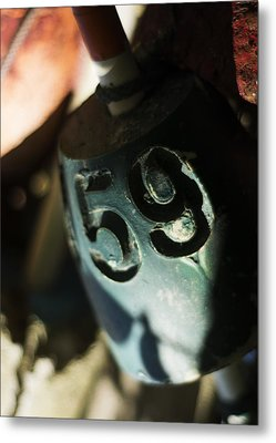 Metal Print featuring the photograph Float Number 59 by Rebecca Sherman
