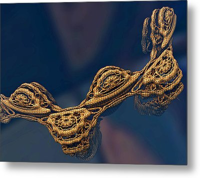Metal Print featuring the digital art Floating All Alone by Melissa Messick