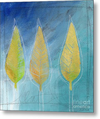 Floating Metal Print by Linda Woods