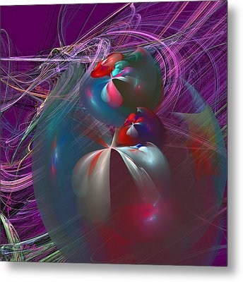 Floating Metal Print by Michael Durst