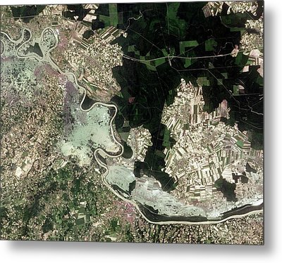 Flooding In The Balkans Metal Print