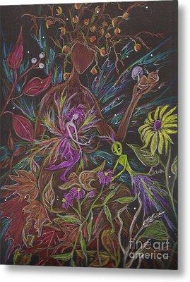 Flora Metal Print by Dawn Fairies