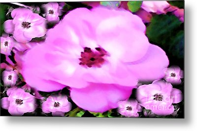 Metal Print featuring the painting Floral Arrangement by Catherine Lott