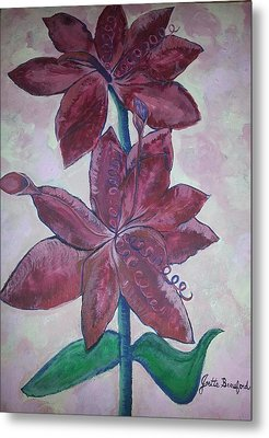 Metal Print featuring the photograph Floral Beauty by Joetta Beauford