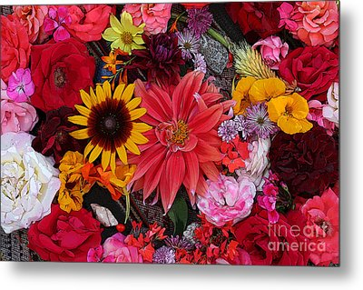 Floral Bounty 2 Metal Print by Jeanette French