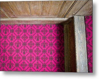 Floral Carpet Metal Print by Tom Gowanlock