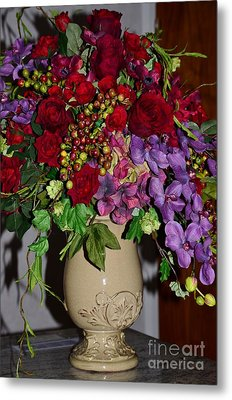 Floral Decor Metal Print by Kathleen Struckle