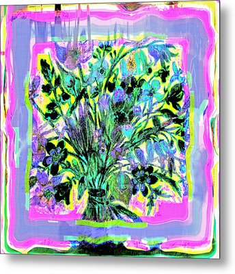 Floral Delight Metal Print