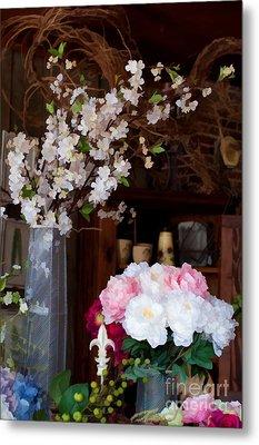 Floral Display Metal Print