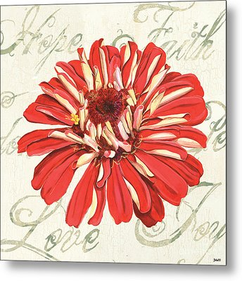 Floral Inspiration 1 Metal Print by Debbie DeWitt