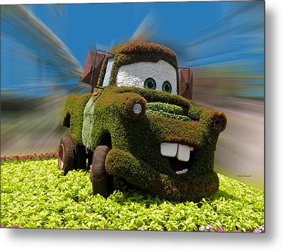 Floral Mater Metal Print by Thomas Woolworth