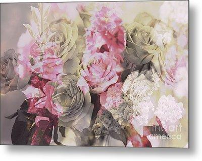 Floral Pattern Metal Print by Amanda Barcon