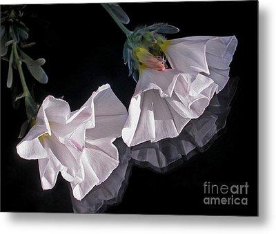 Floral Reflections Metal Print by Kaye Menner