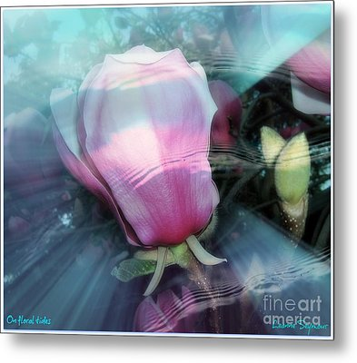 Metal Print featuring the photograph Floral Tides by Leanne Seymour