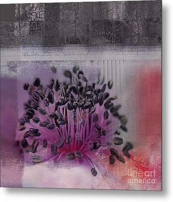 Floralart - 02b Metal Print by Variance Collections