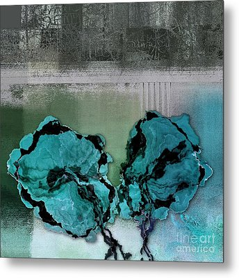 Floralart - 0302bc09 Metal Print by Variance Collections
