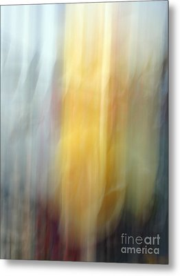 Florals In Motion 4 Metal Print by Cedric Hampton