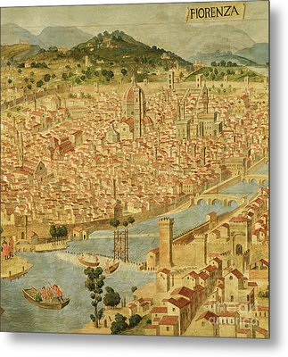 Florence  Carta Della Catena Metal Print by Italian School
