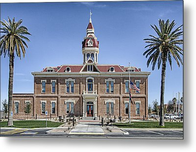 Florence City Hall Metal Print