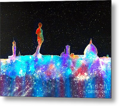 Florence Cosmos Metal Print by Bill Holkham