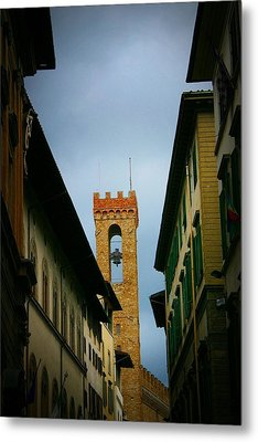 Metal Print featuring the photograph Florence  by Henry Kowalski