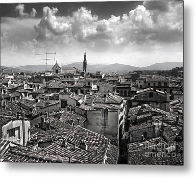 Florence Italy - 01 Metal Print by Gregory Dyer