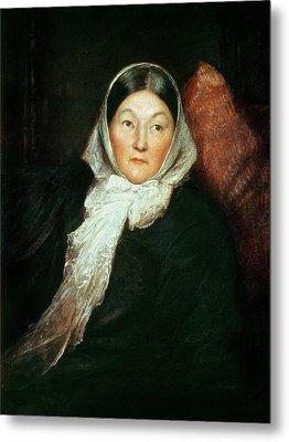 Florence Nightingale Metal Print by Sir William Blake Richomond