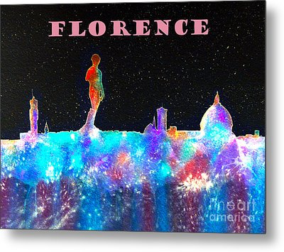 Florence Poster Metal Print by Bill Holkham