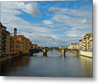 Metal Print featuring the photograph Florence Serenade by Walter Fahmy