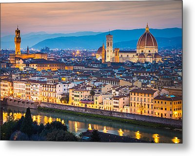 Florence Metal Print by Stefano Termanini