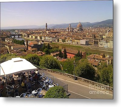 Florence Metal Print by Ted Williams