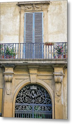 Florentine Apartment Metal Print