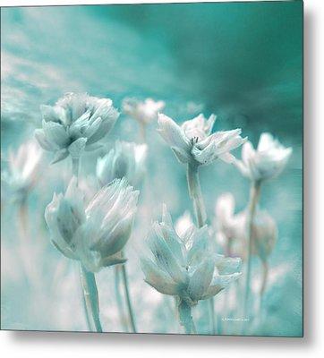 Flores Secas II Metal Print