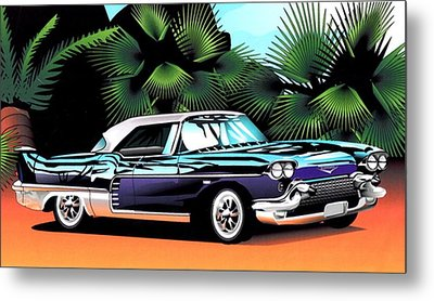 Florida Car Metal Print