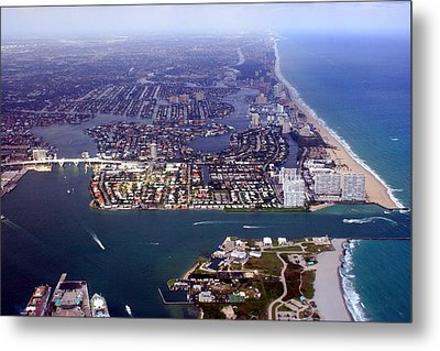 Florida Coast Line-1 Metal Print
