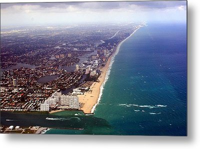 Florida Coast Line-2 Metal Print
