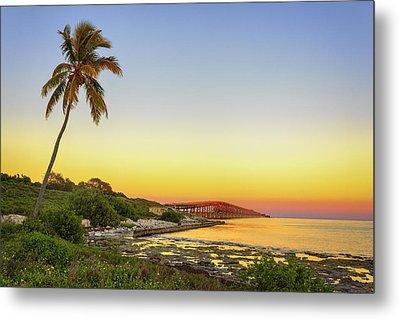 Florida Keys Sunset Metal Print