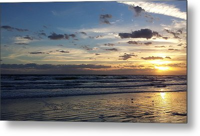 Metal Print featuring the photograph Florida Sunrise by Ally  White