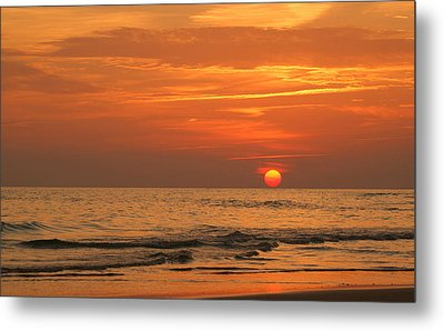 Florida Sunset Metal Print by Sandy Keeton