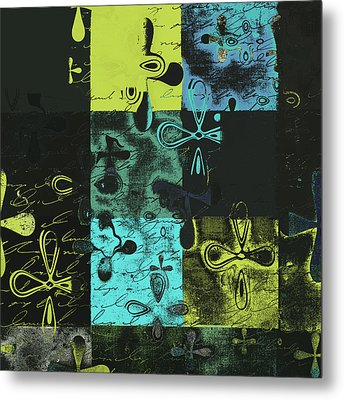 Florus Pokus A02 Metal Print by Variance Collections