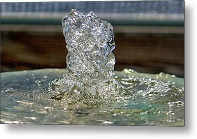 Metal Print featuring the photograph Flow Water Never Sounded So Good by Michael Rogers
